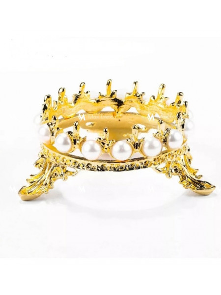 Подставка под кисти корона (золото)
